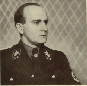 Karl Hanke jescze w mundurze generała SS
