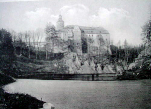 Zamek Czocha przed przebudową