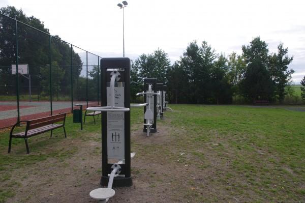 Gmina buduje siłownie zewnętrzne - Siekierczyn