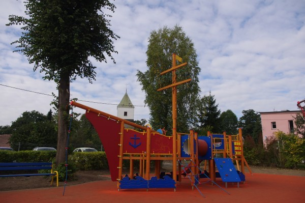 Najnowocześniejszy plac zabaw w Powiecie Lubańskim - Zaręba