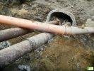 Kanalizacja deszczowa ułożona nieprawnie